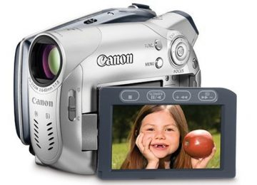 Canon DVD Camcorders